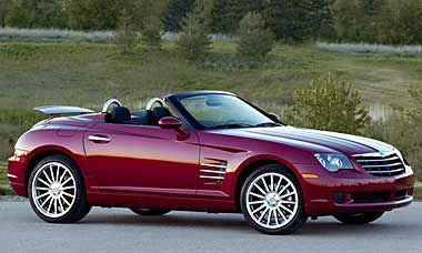 Chrysler Crossfire Parts